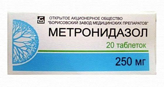 Метронидазол от демодекоза: особенности применения